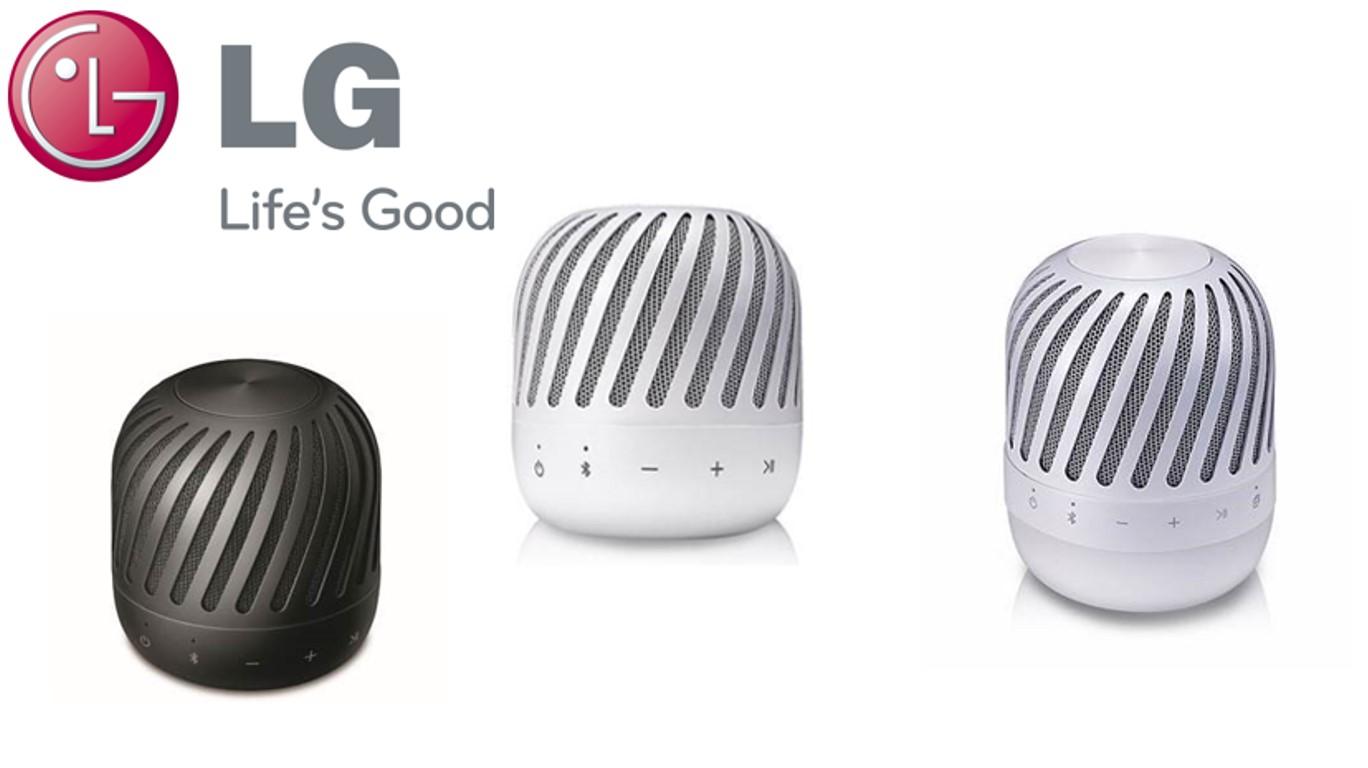 Новые портативные bluetooth колонки LG PJ2 и PJ3