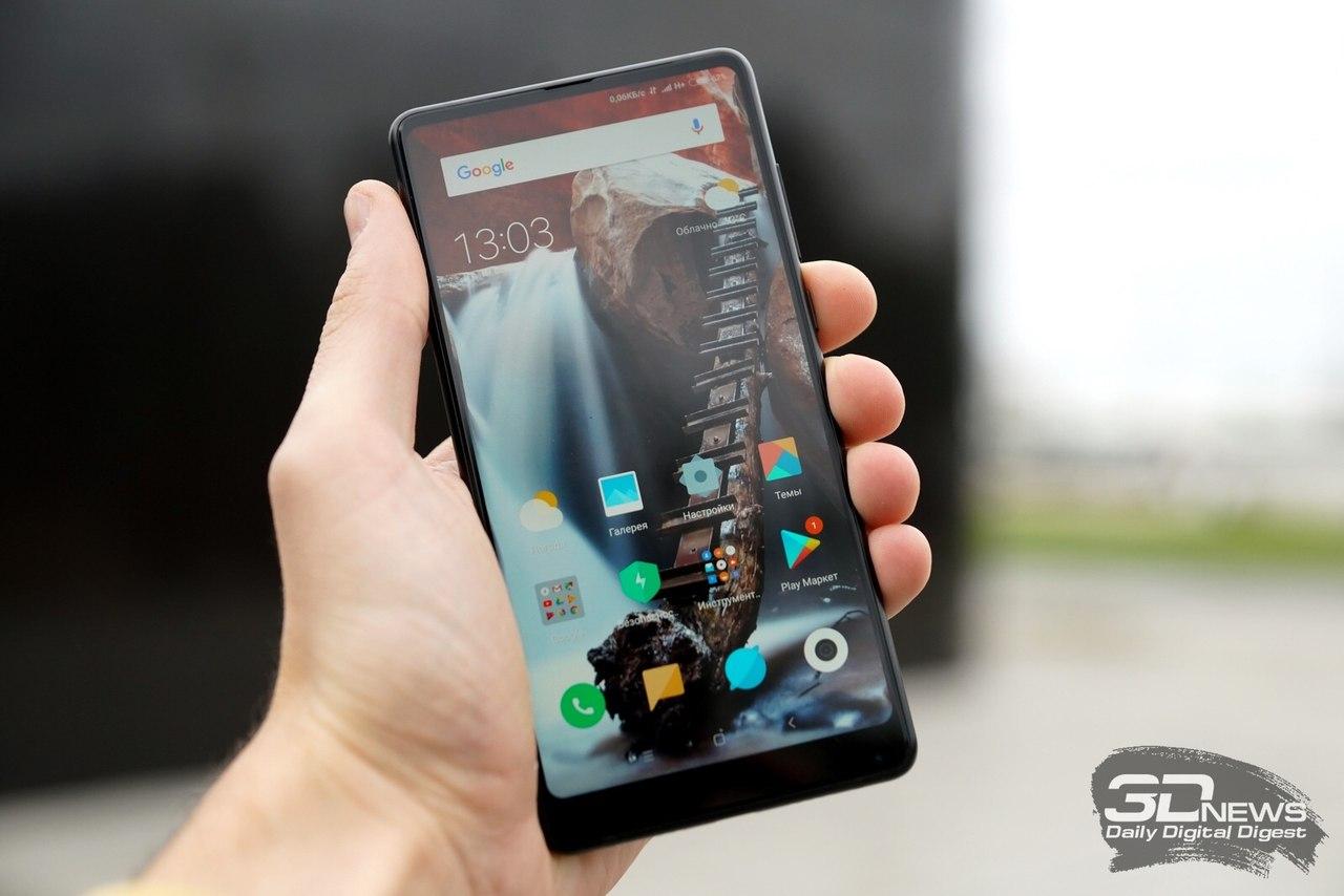 Новый смартфон Xiaomi Mi MIX 2