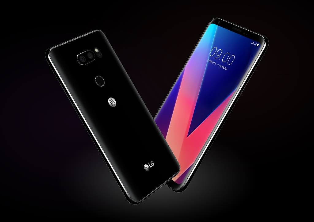 Открытие предзаказа на смартфон LG V30+