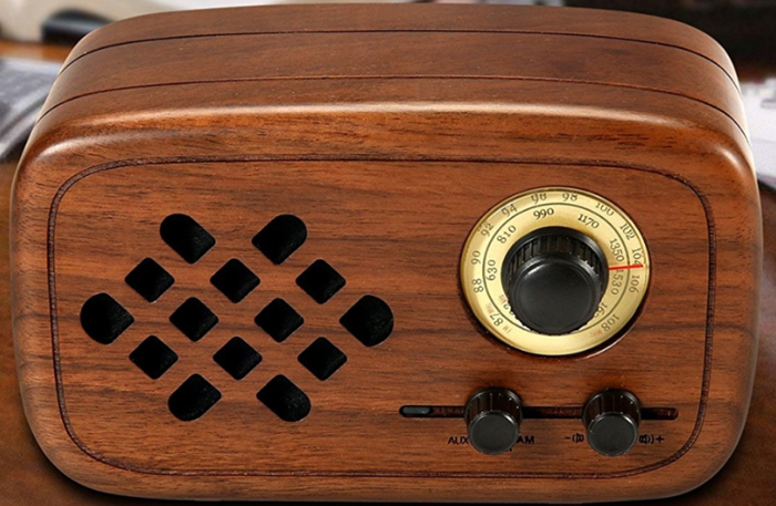 Wood Bluetooth 4.0 Wireless Speakers: