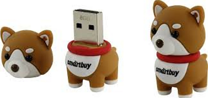 8Gb SmartBuy NY series Akita Dog