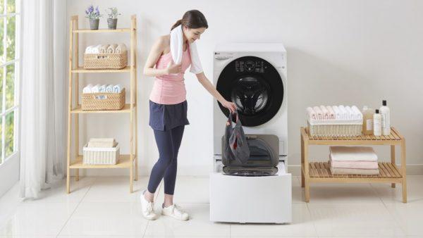 Новая стиральная машина LG TWINWash