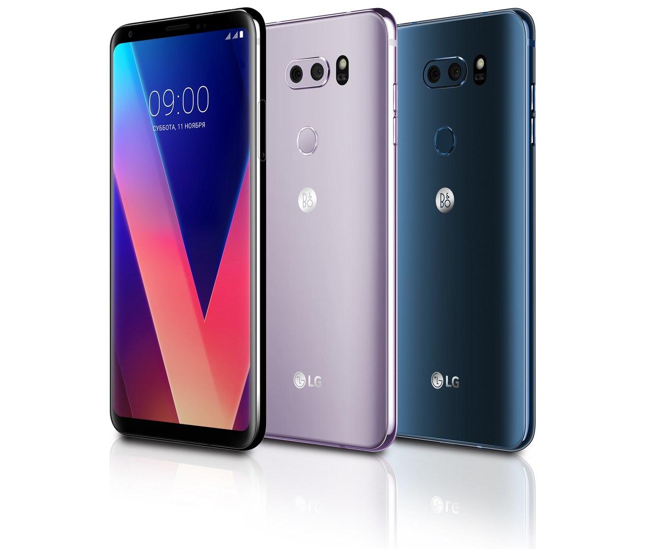 Новогодняя акция для покупателей смартфон LG V30+