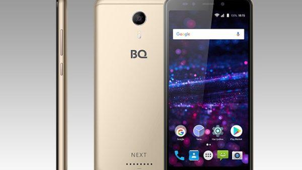 Новый смартфон BQ-5522 Next