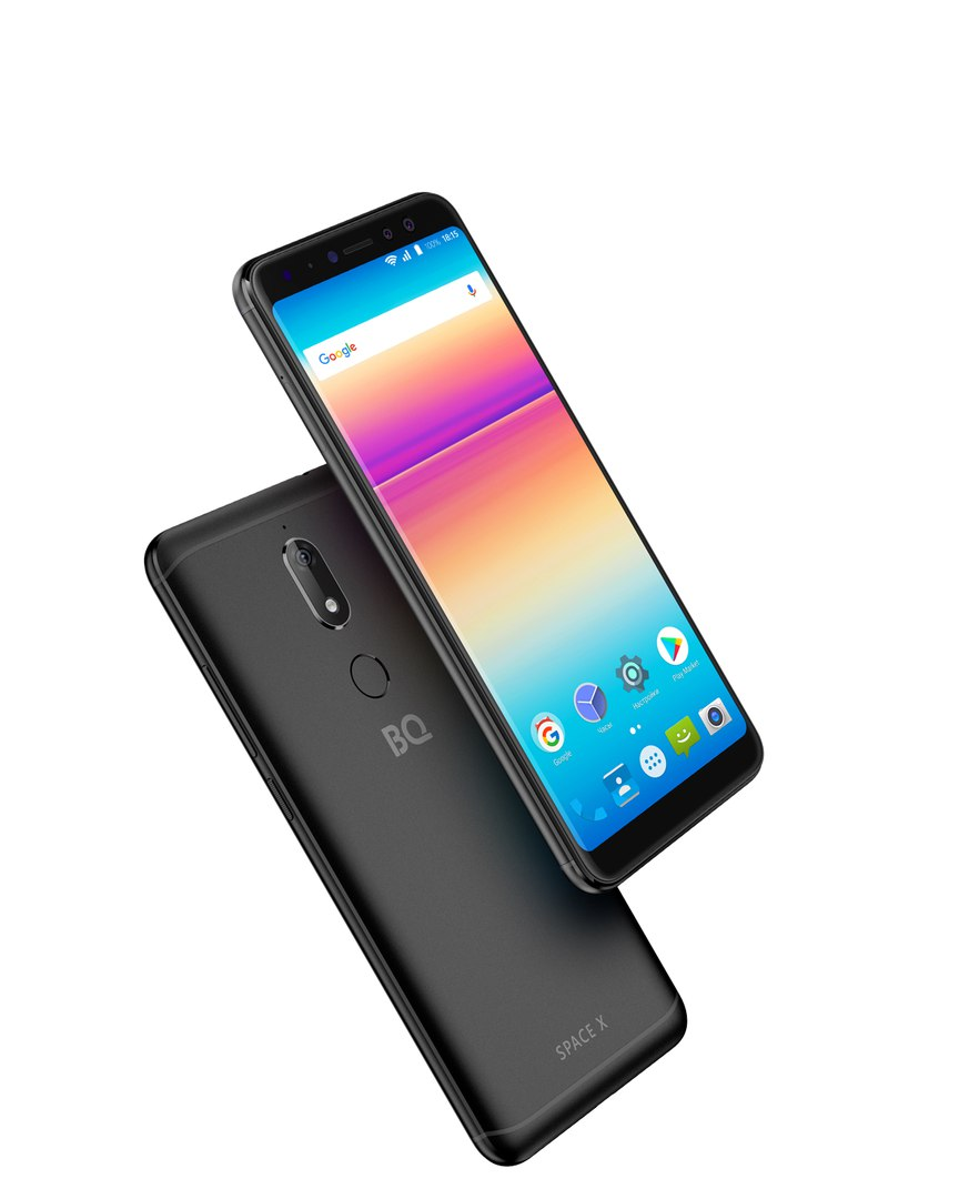 Новый смартфон BQ 5700 Space X