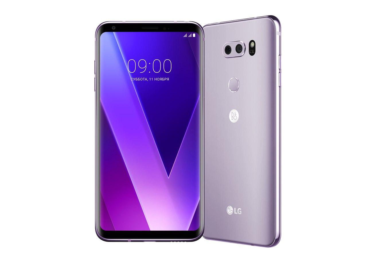 Старт продаж смартфона LG V30+ в России