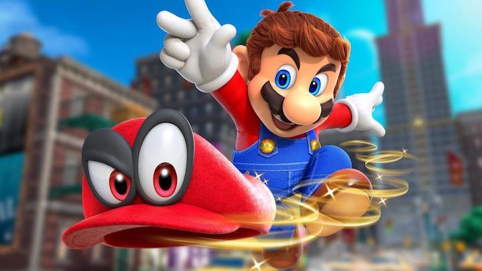 Super Mario Odyssey Игровая индустрия 2017