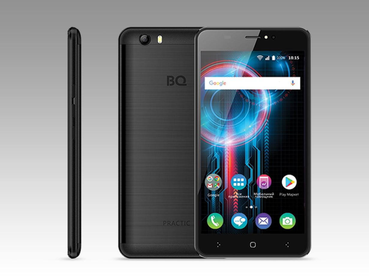 Новый смартфон BQ-5525 Practic