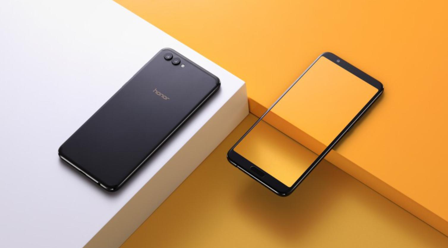Новый смартфон Honor View 10