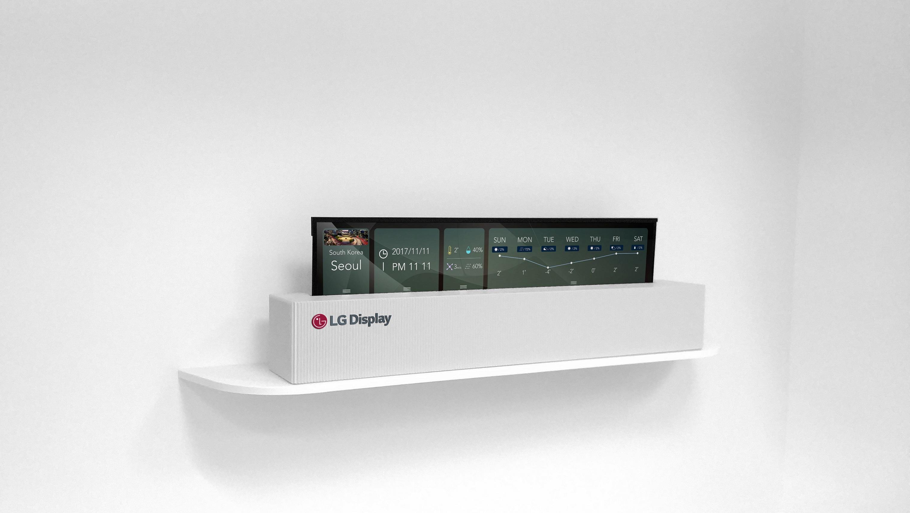 Новые модели дисплеев от LG Display