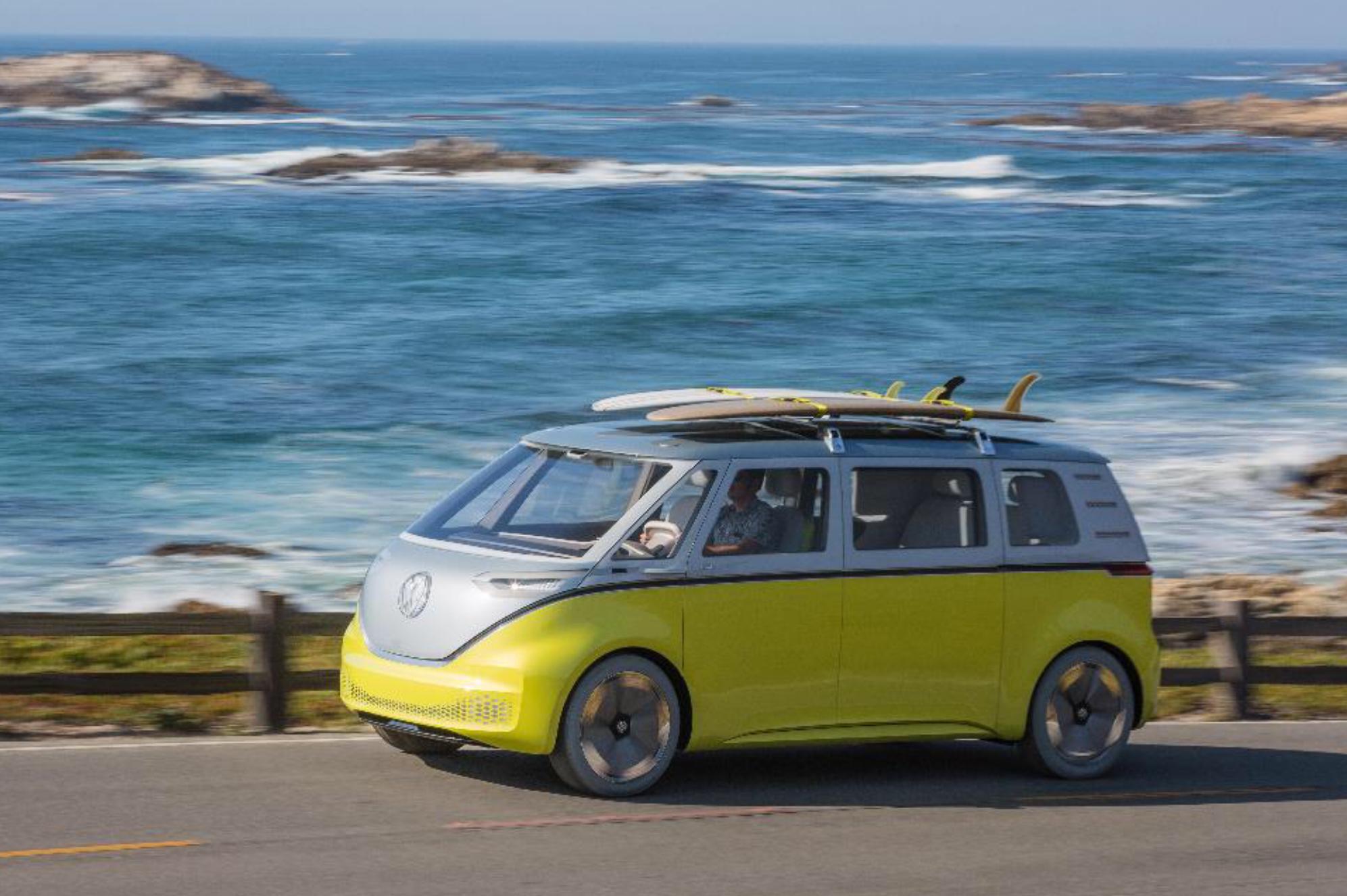 Новый микроавтобус VW I.D. Buzz