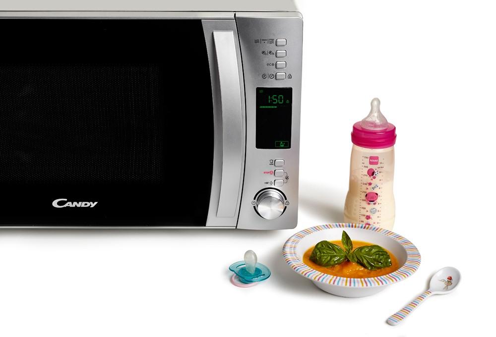 Новая линейка микроволновых печей Candy Cook-iNAPP