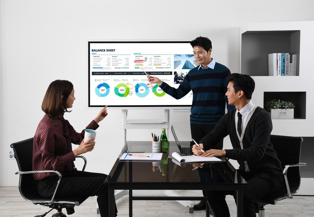 Интерактивный цифровой флипчарт Samsung