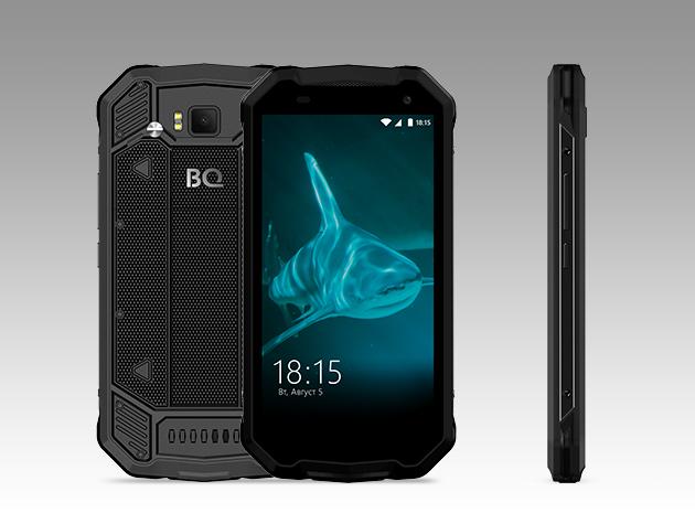 Новый смартфон BQ-5003L Shark Pro
