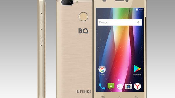 Новый смартфон BQ-5005L Intense