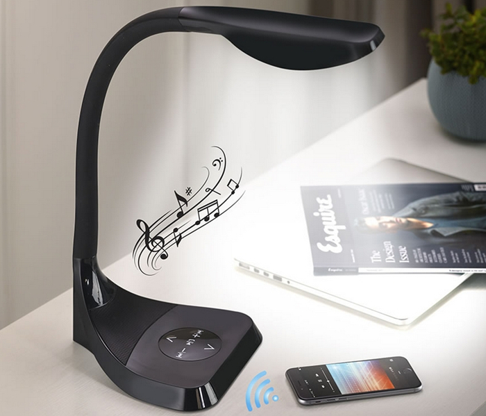 Bluetooth Speaker LED Lamp