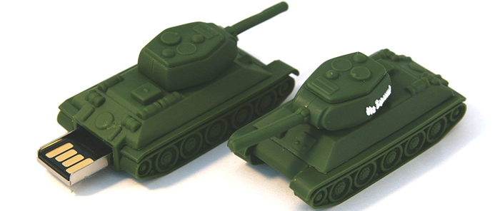 "USB-драйв ""Танк Т-34 на Берлин"""