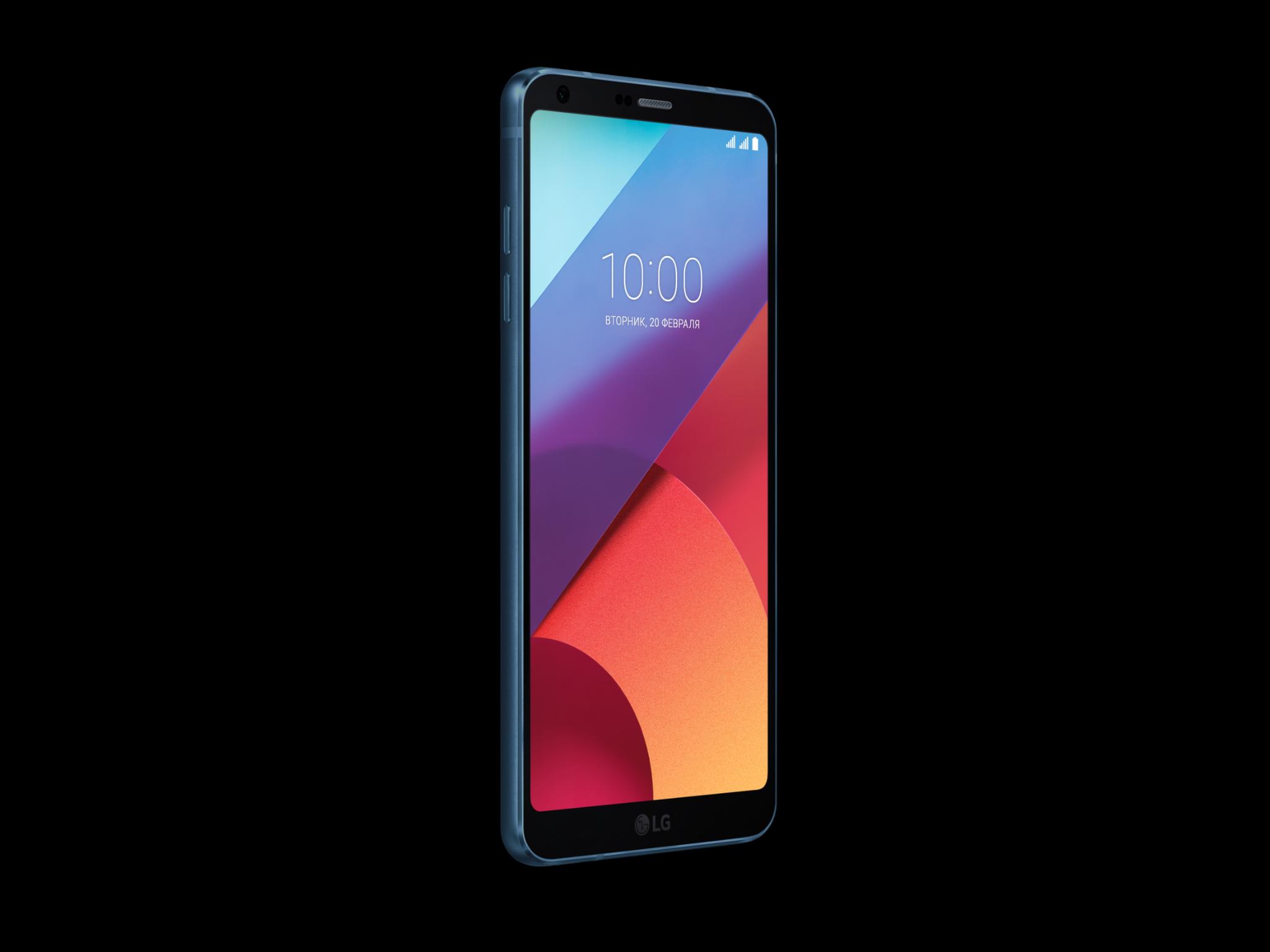 Новые цветовые решения для смартфонов LG