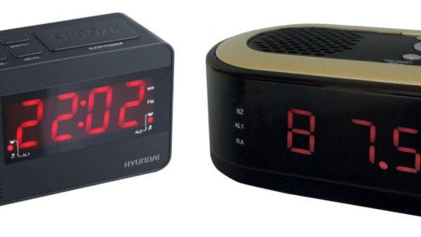 Новые радиобудильники Hyundai H-RCL200 и H-RCL230