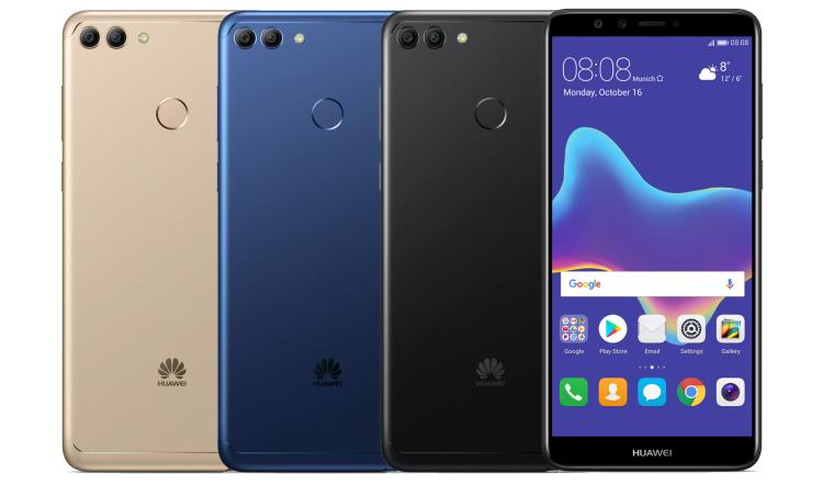 Новый смартфон Huawei Y9 2018