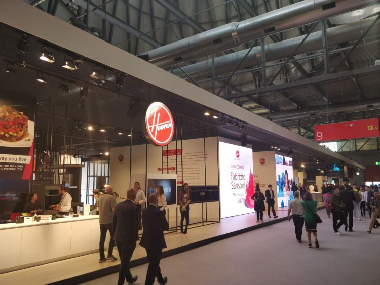 Новинки Candy Group на EUROCUCINA