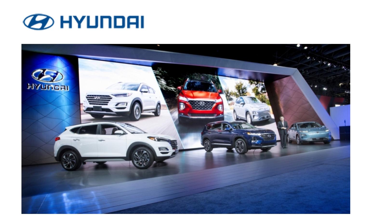 Новые автомобили Hyundai