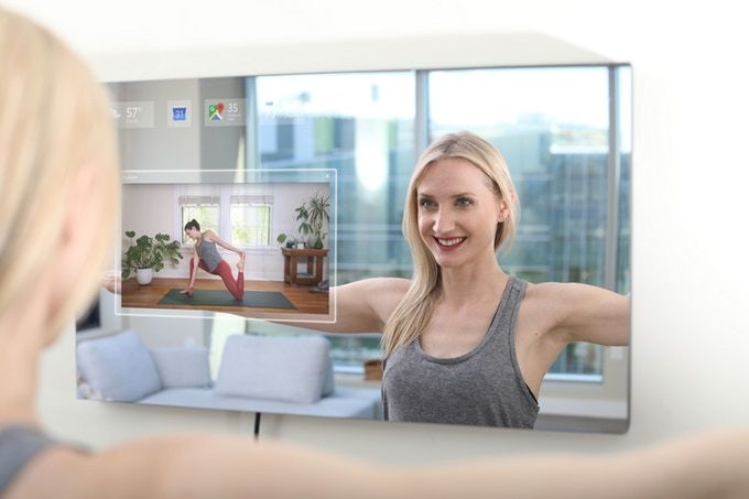 Ayi-Powered Smart Mirror