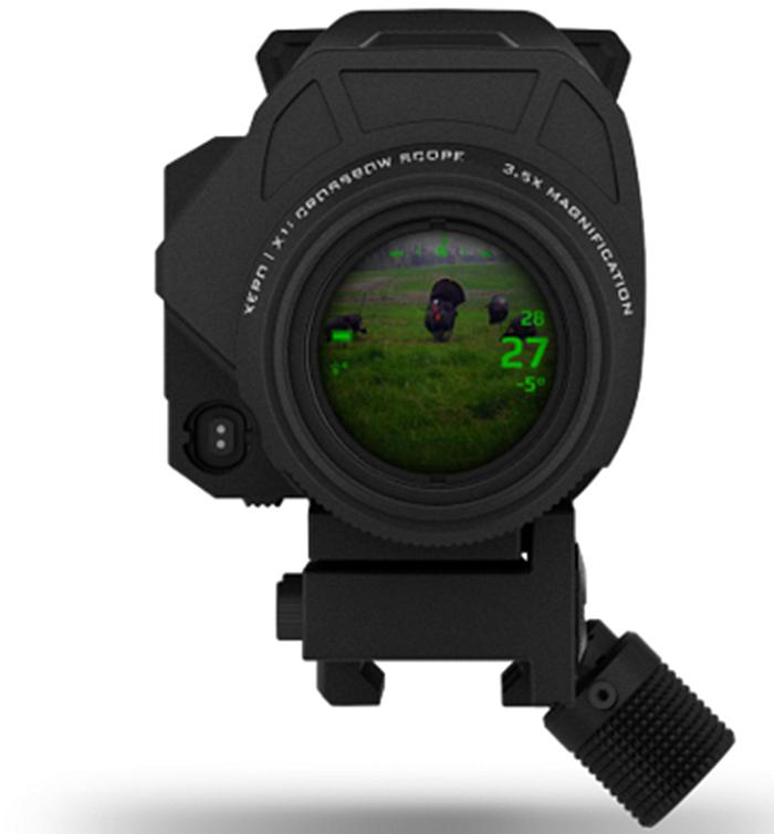 Garmin представляет XERO X1i: прицел для арбалета со встроенным лазерным дальномером