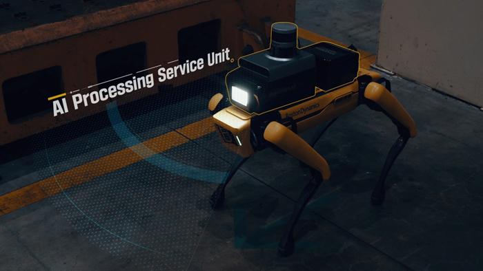 Hyundai Motor Group представляет Factory Safety Service Robot  первый совместный проект с Boston Dynamics